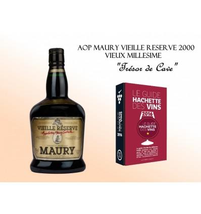 """Maury Tuilé """"Vieille Réserve"""" 2000 AOP 75 cl"""